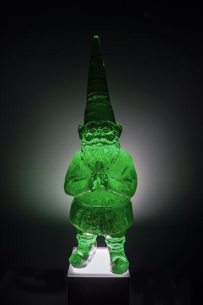 Sam Tufnell, 'Mini Ghost Gnome (Fluorescent Green)', 2019
