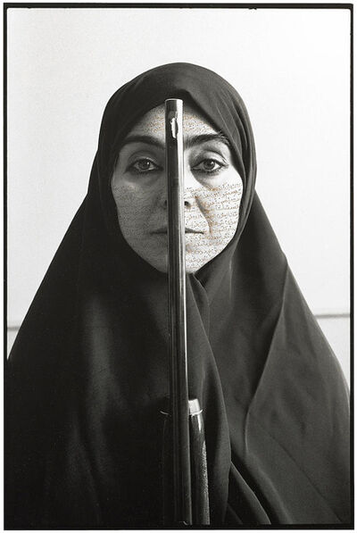 Shirin Neshat, 'Rebellious Silence, from Women of Allah series', 1994
