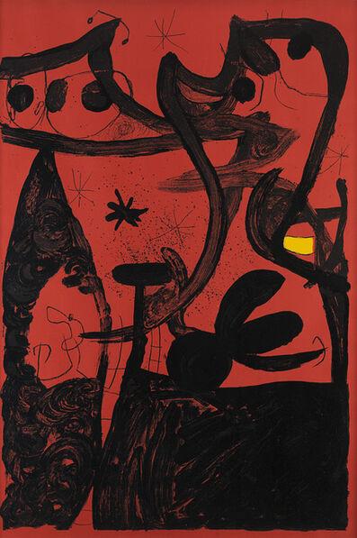 Joan Miró, 'Defilé de mannequins en Chine', 1969