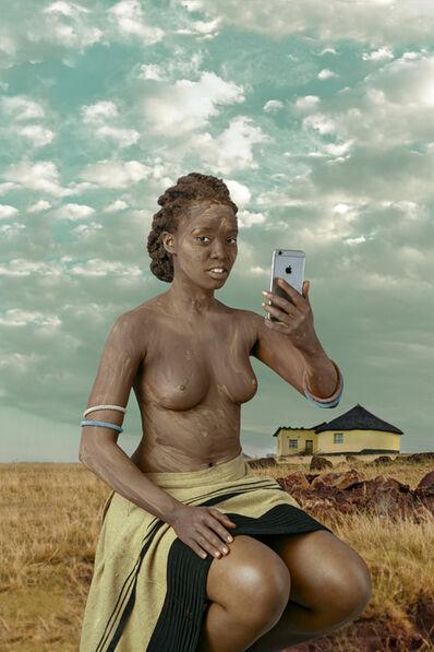 Tony Gum, 'Xhosa woman - Intombi I', 2017