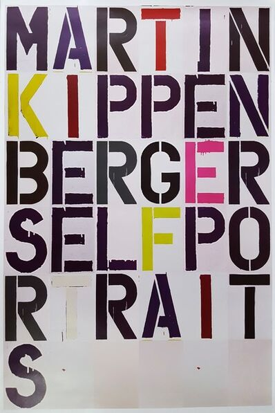 Christopher Wool, 'CHRISTOPHER WOOL X MARTIN KIPPENBERGER: SELF PORTRAIT, EXHIBITION POSTER', 2005