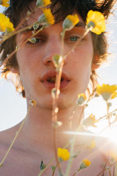 Jack Pierson, 'Baby Behind Flowers', 2019
