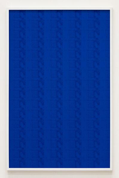 Hank Willis Thomas, '102 Five Hundred Euro Bills (Blue)', 2019