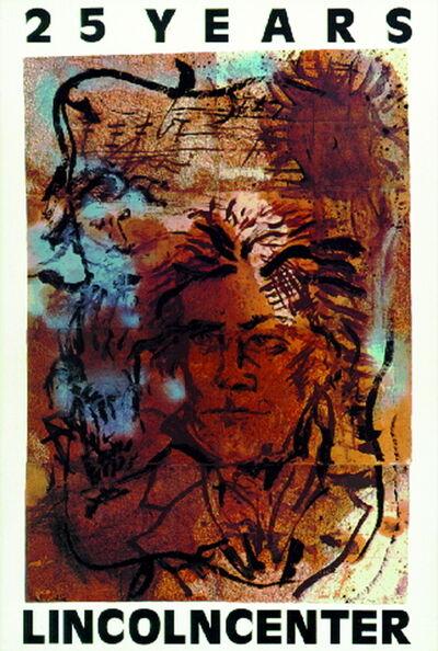 Julian Schnabel, '25 Years - Lincoln Center', 1984