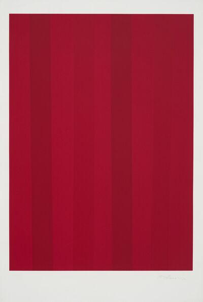 Guido Molinari, 'Quantificateur rouge', 1992