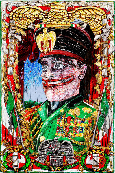 Federico Solmi, 'The Grand Commander Benito Mussolini', 2015