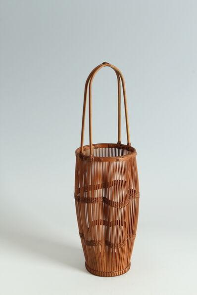 Kosuge Kōgetsu, 'Ikebana Flower Basket (T-3973)', Showa era (1926-89) 1980s