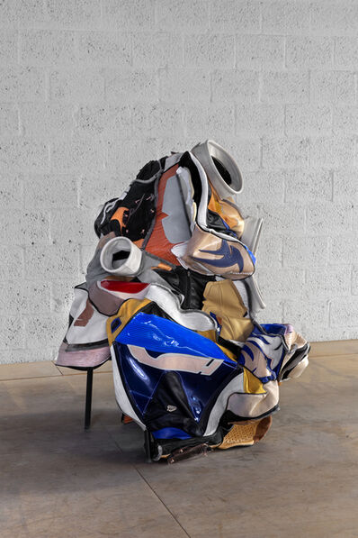 Hansol Kim, 'WEARING CHAIRS WHILE SITTING ON PANTS NO 1', 2019