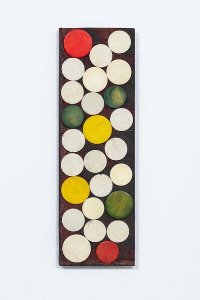 Luis Romero, 'Blanco/Amarillo/Rojo/Verde (circles composition )', 2019
