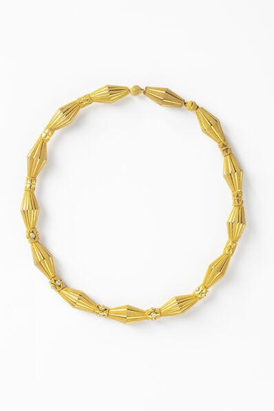 Cornelia Roethel, 'Flute necklace'