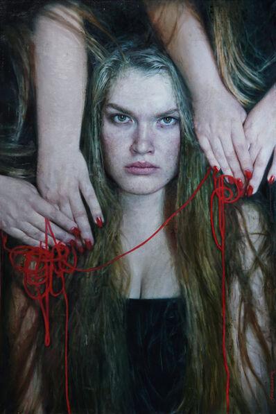 Viktoria Savenkova, 'Red Thread', 2019