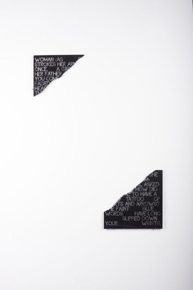 Moi Tran, 'Dying - A Journey 4. Poetry Tile.', 2019