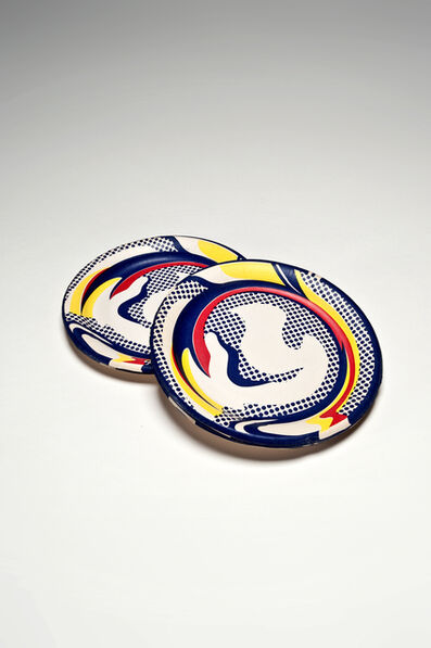 Roy Lichtenstein, 'Paper Plates (Set of 10)', 1969
