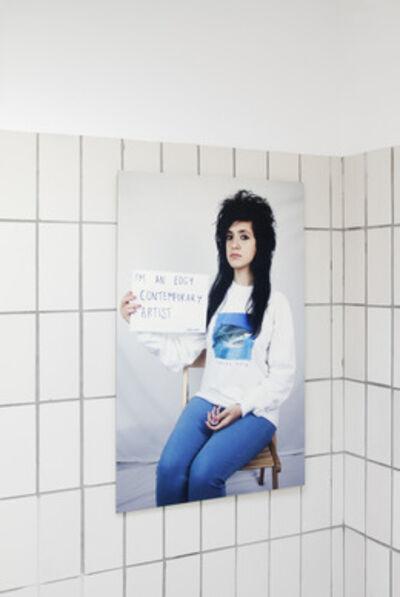 Sarah Maple, 'I am an edgy contemporary artist', 2011