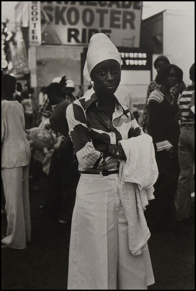 Ming Smith, 'Beauty, Coney Island', 1976