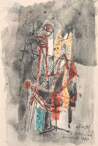 Afro (Afro Basaldella), 'Untitled', 1951