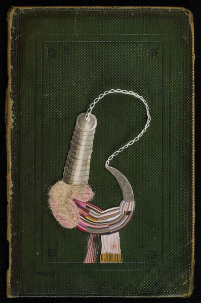 Jenny Abell, 'Book Cover No. 181', 2015