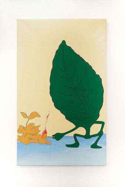 Wilson Diaz, 'Burning leaf', 2021