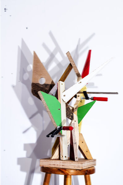 Peter Puklus, 'Maquette of a Monument Symbolising the Liberation III., view nr. 1', 2014