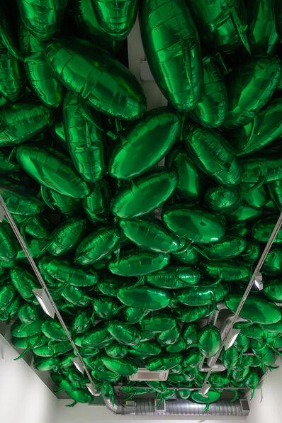 Philippe Parreno, 'Speech Bubbles (Green)', 2015