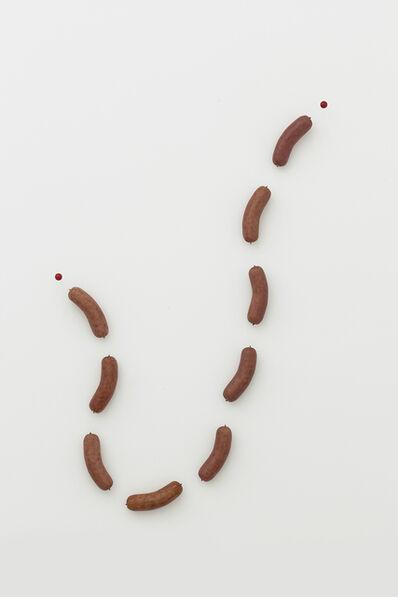 Liu Xinyi, 'Nine Segments of Sausage', 2016