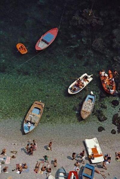 Slim Aarons, 'Conca dei Marini Bay, 1984', 1984