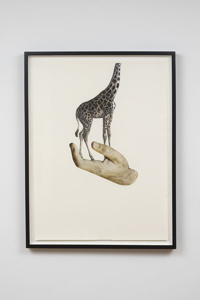 Jakob Kolding, 'The Giraffe Who Suddenly Discovered That Everything is Relative', 2015