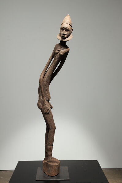 Unknown African, 'Malian Bambara Tall Male Figure', Early 20th Century