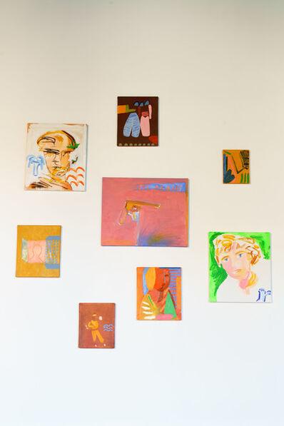 Matheus Chiaratti, 'Clockwise from center/top: Kairouan, Harar, Un coin de table, Abyssinian woman, Rimbo, Figli, Rimbaud & Verlaine Forever and Rivoltita', 2018