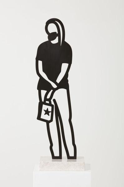 Julian Opie, 'Long hair (from Boston Statuettes)', 2020