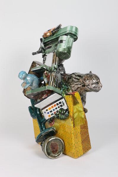 Gwon Osang, 'Toryburch and Fishing Cat', 2013
