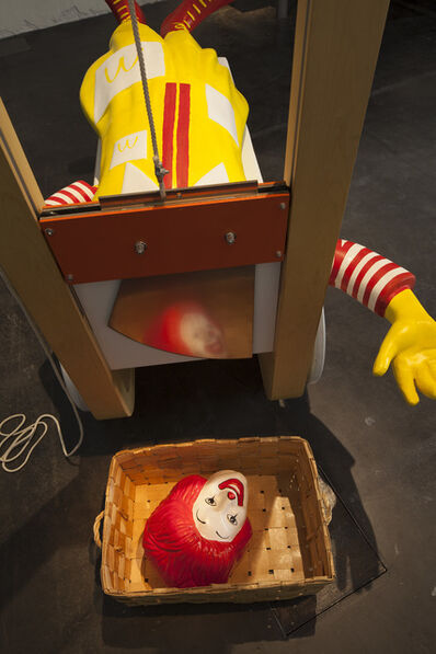 Jani Leinonen, 'Ronald and the Guillotine', 2011