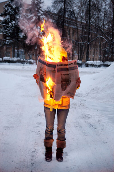 Tim Parchikov, 'Burning News.', 2009-2012