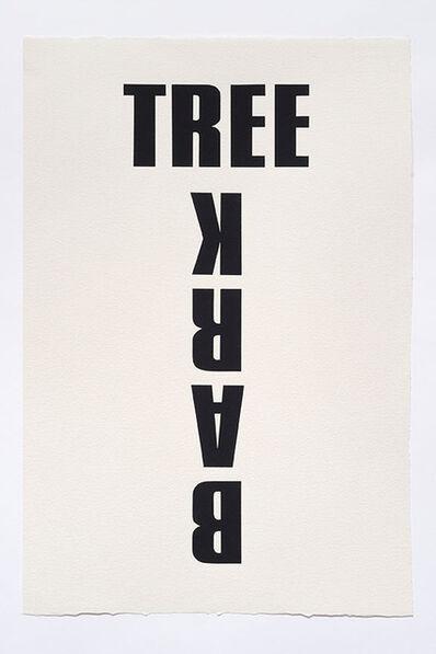 Kay Rosen, 'Barking Up the Wrong Tree', 2015