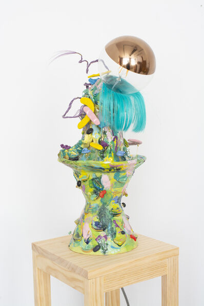 Ling Chun, 'LIGHT ME UP (GREEN) ', 2020