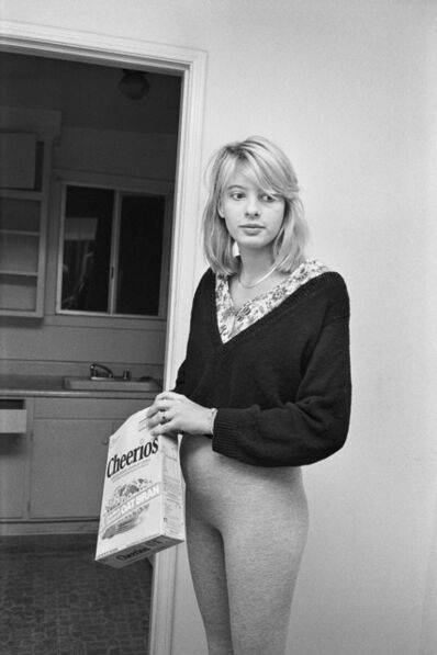 Jim Goldberg, 'Runaway from Florida Who Stole Her Daddy's Credit Card, Los Angeles, California', 1991