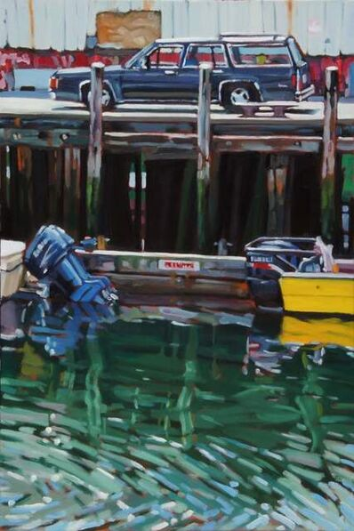 David Kelavey, 'Wagon and Outboards', 2019