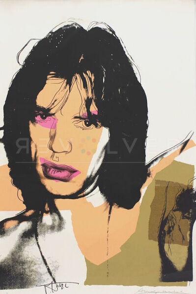Andy Warhol, 'Mick Jagger (FS II.141) ', 1975