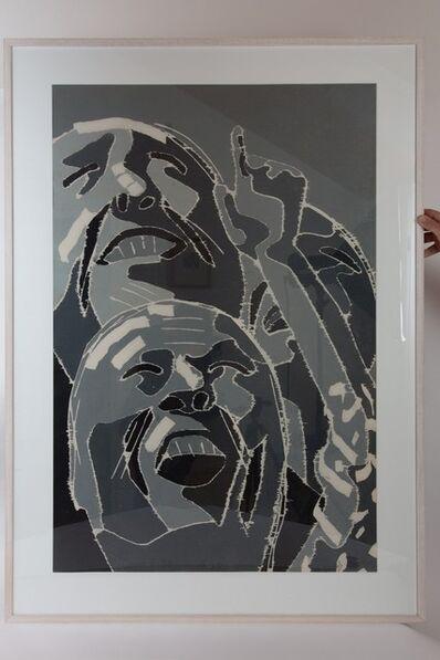 Fang Lijun, 'Comerades', 2000