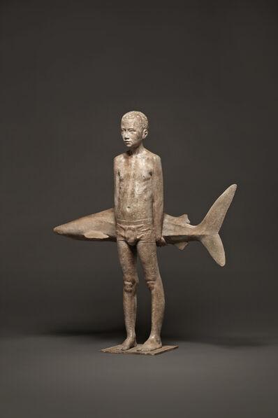 Mario Dilitz, 'Boy and Shark'