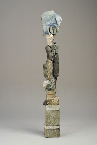 Stephen De Staebler, 'Segmented Figure with Aura', 2008