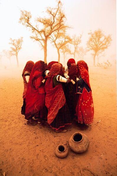 Steve McCurry, 'Dust Storm, Rajastan, India', 1983