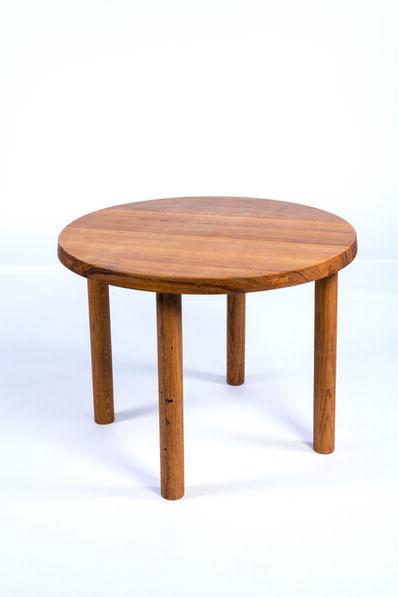 Pierre Chapo, 'Model T02 dining table in oak', vers 1960