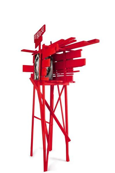 Arne Quinze, 'Stilthouse Red Eye C.U. 070111', 2011