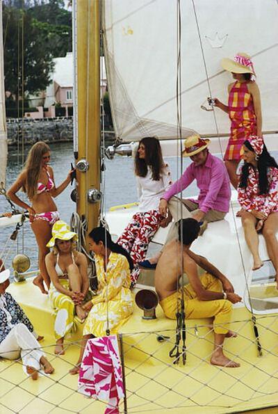 Slim Aarons, 'Colorful Crew', 1970