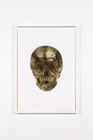 Damien Hirst, 'Death or Glory – Glorius Skull (Cool Gold – European Gold)', 2011