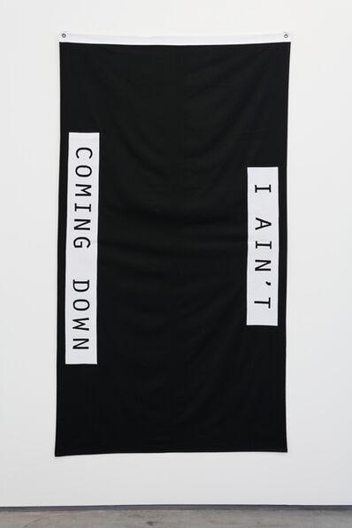Gardar Eide Einarsson, 'Black Flag (I Ain't Coming Down)', 2015
