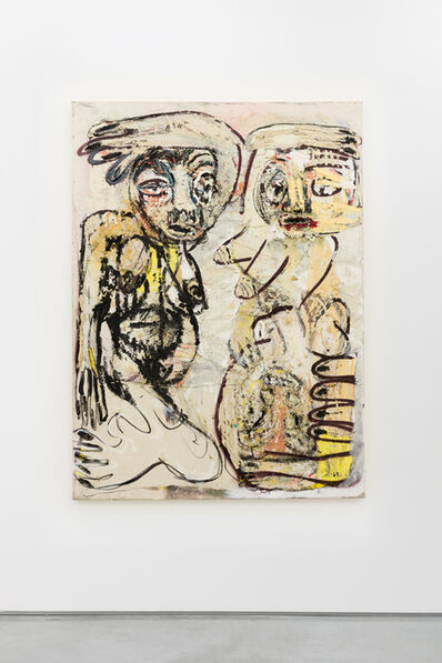 Daniel Crews-Chubb, 'Zumbie and Belfie (lipstick)', 2015
