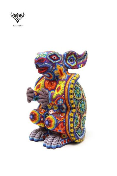 Ramona de la Cruz Lopez, 'Huichol Sculpture - Tatsíu', 2019