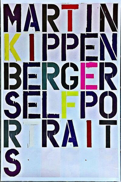 Christopher Wool, 'Martin Kippenberger Self-Portraits', 2005